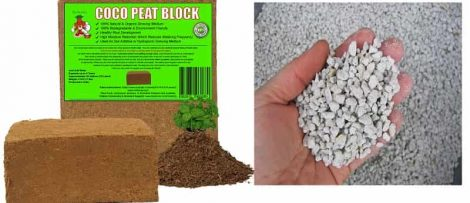Mr-Stacky Coco Peat perlite mix