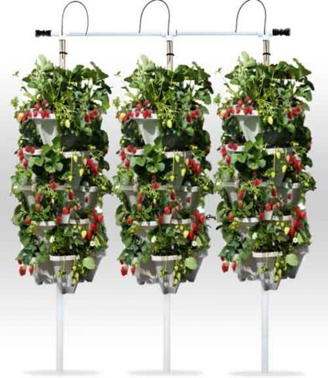 Hydroponic Tower Kit - 72 Plant Vertical Garden System
