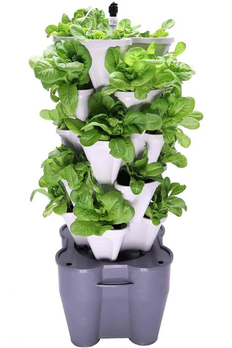 Smart Farm Hydroponic Tower Garden System