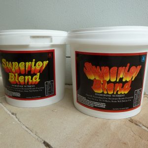 Superior blend hydroponic nutrient 5kg part A B