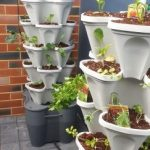 3 tower smart farm garden