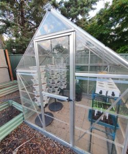 3 tower DIY greenhouse
